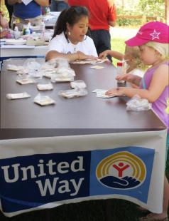 United Way will lead science and reading activities with preschoolers on Tuesday
